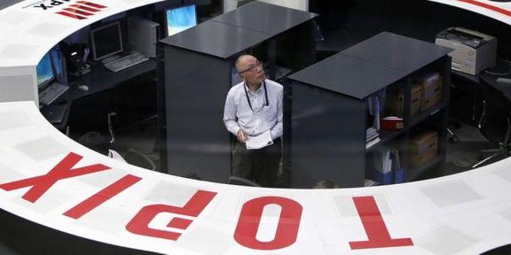 Japonya hisseleri ikinci aylık kazancını azaltarak geri çekildi