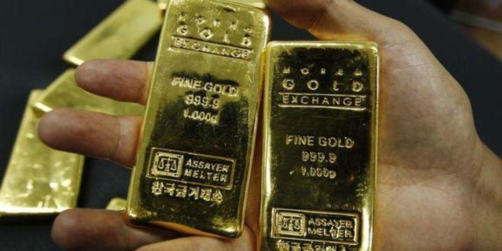 Altın dolardaki düşüşle yükseldi