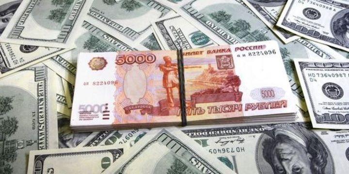 Ruble düşüşünü sürdürüyor