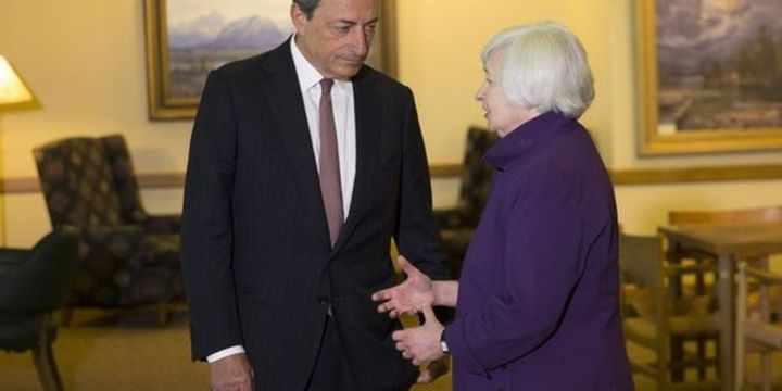 Draghi Yellen