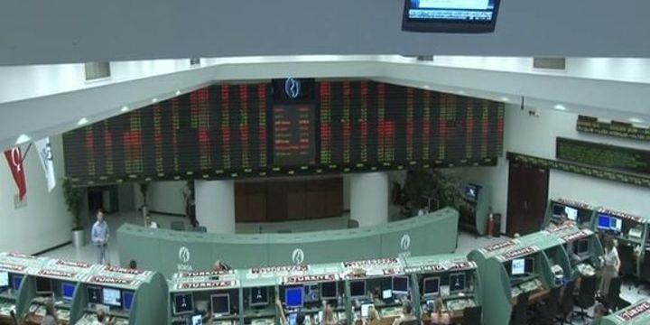 Borsa günün ilk yarısında % 1.57 geriledi