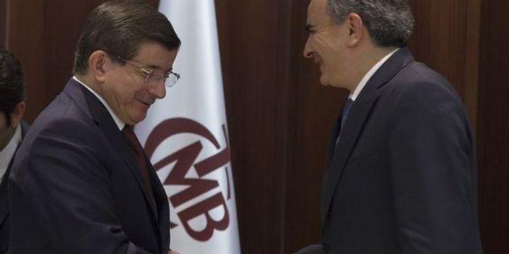 Davutoğlu bugün MB Başkanı Başçı