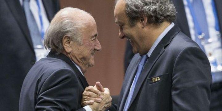 FIFA Blatter ve Platini