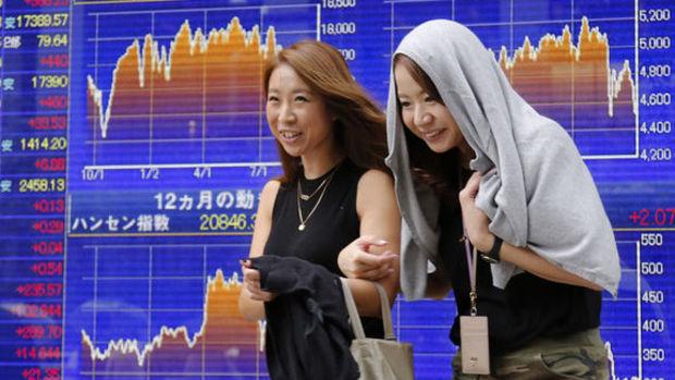 """Japonya hisseleri """"yen"""" ile dalgalı seyretti"""