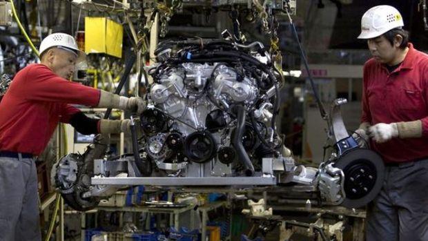 Japonya'da sanayi üretimi üç ayda ilk kez düştü