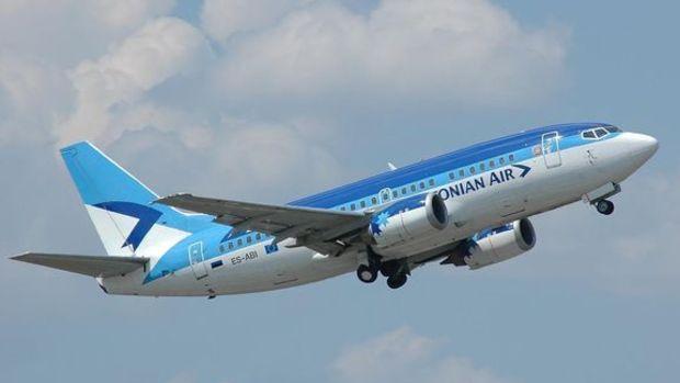 Estonya'da ulusal hava yolu şirketi iflas etti