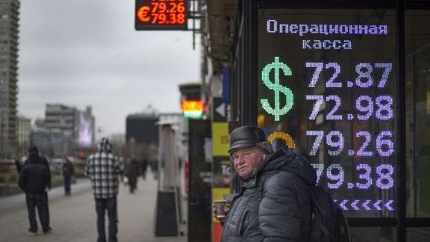 Ruble son üç yılda yüzde 60 değer kaybetti