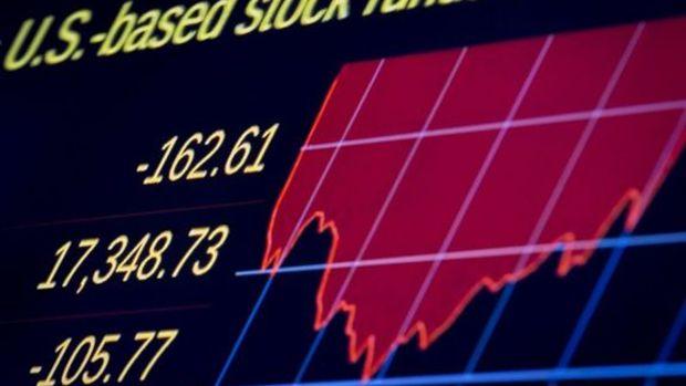 Dow Jones'ta 300 puanlık sert düşüş