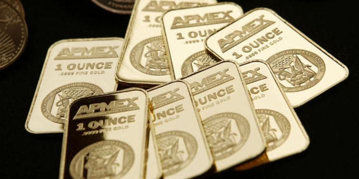 """Altın """"piyasaların"""" yatışmasıyla düştü"""