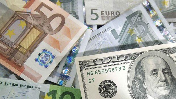 Euro/dolar Draghi sonrası sert düştü