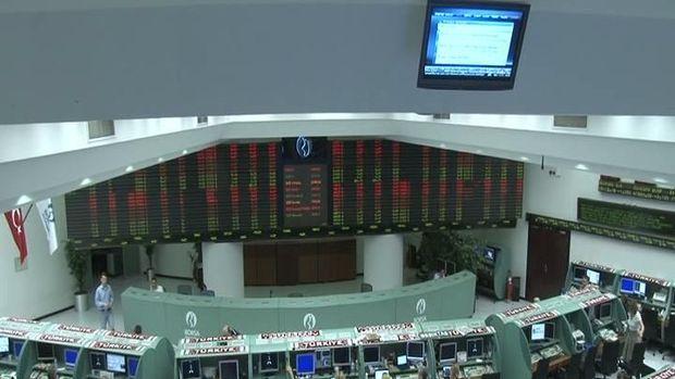 Borsa günün ilk yarısında yüzde 1,09 düştü