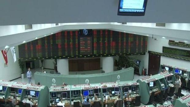Borsa günün ilk yarısında yüzde 0,25 geriledi