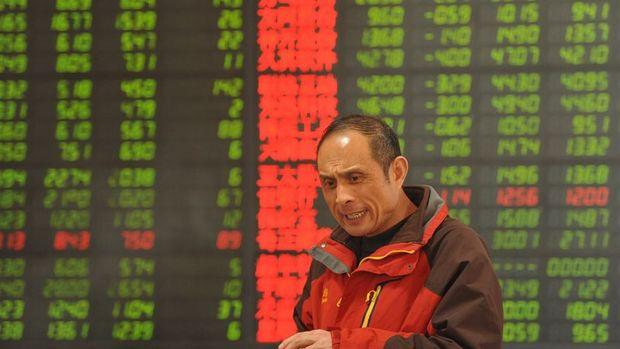 """Çin hisseleri """"dış ticaret"""" ile geriledi"""