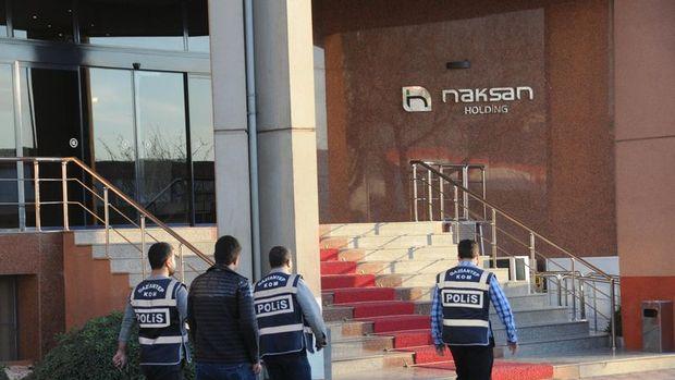 Naksan Holding'e baskın: 9 kişi gözaltında