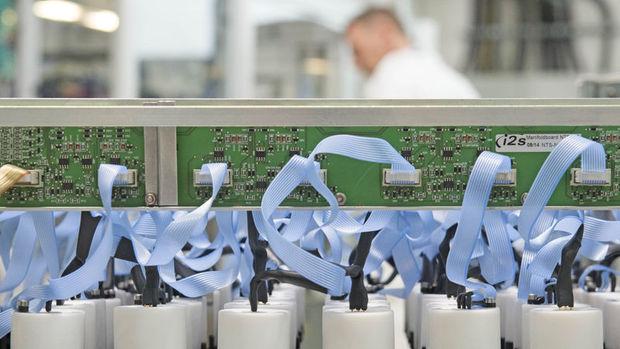 Almanya'da imalat cirosu ocakta arttı