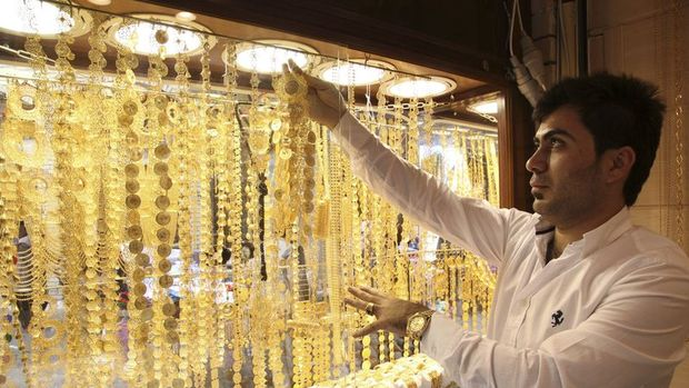 Altının gram satış fiyatı 114,50 lira seviyelerinde