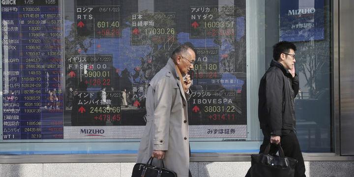 """Asya hisseleri """"petrol""""deki düşüşle geriledi"""