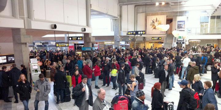 Göteborg havalimanına bomba ihbarı yapıldı