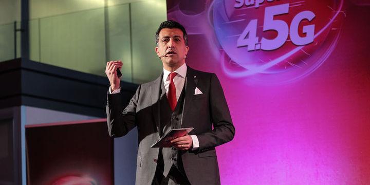 Vodafone/Öğüt: 7 bin noktada 4,5G hizmeti vermeye başladık