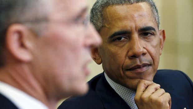 Obama, NATO Genel Sekreteri Stoltenberg ile görüştü