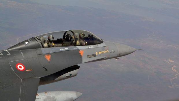 K. Irak'taki terör örgütü hedeflerine hava harekatı