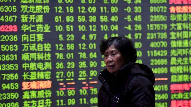 """Çin hisseleri """"teknoloji"""" ile düştü"""