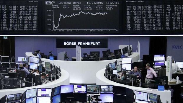 Avrupa hisseleri bankacılıkla yükseldi