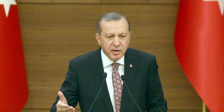 Erdoğan:Finansörler ve finans yöneticileri uygun zemine kaçarlar