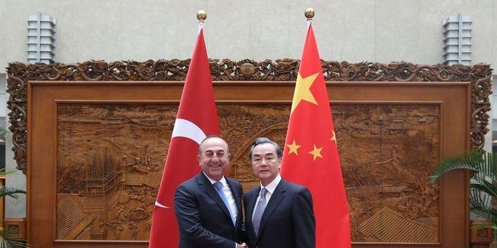Çavuşoğlu, Çinli mevkidaşı Vang ile görüştü
