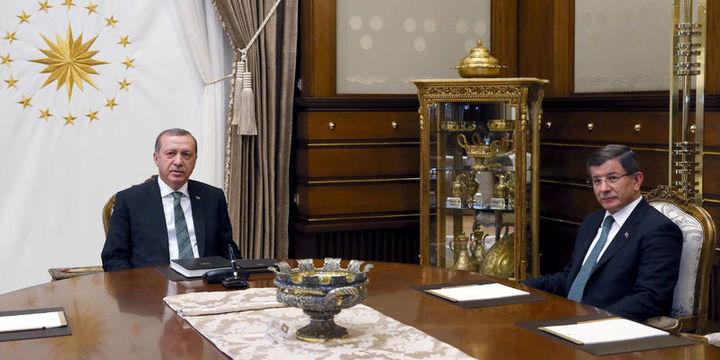 Erdoğan ile Davutoğlu