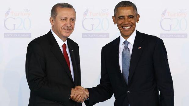 Cumhurbaşkanı Erdoğan, Obama ile telefonda görüştü