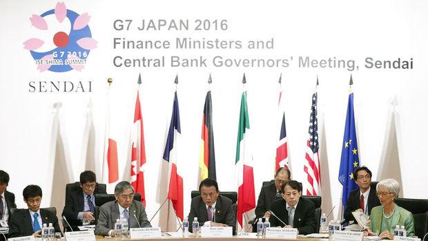 G-7 küresel büyüme görünümü konusunda uyardı