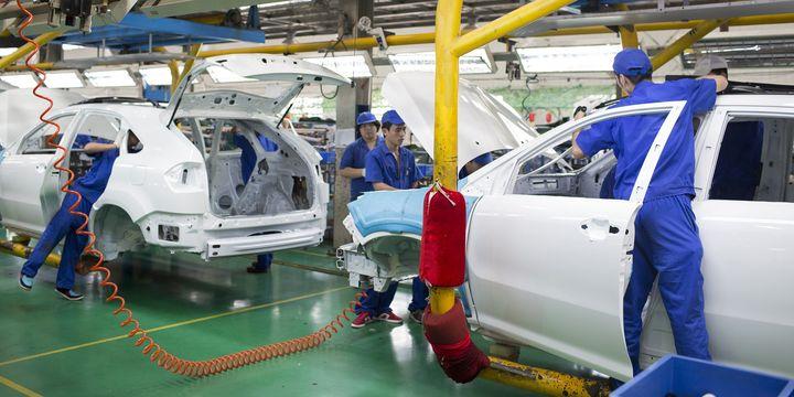 Çin imalat PMI