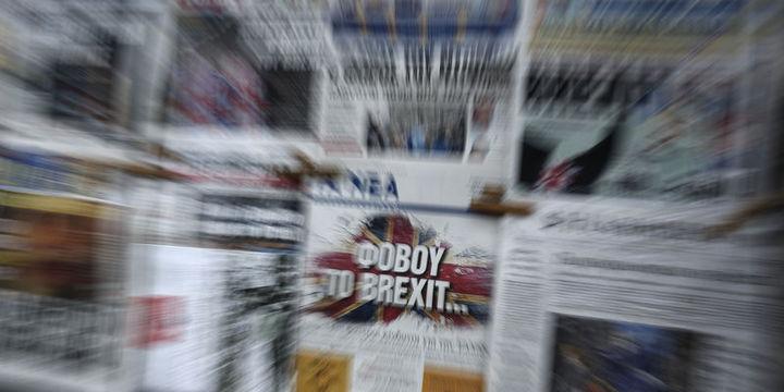 """""""Parasal sıkılaşma düşüncesi Brexit"""