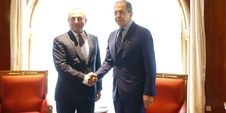 Çavuşoğlu ve Lavrov 7 ay sonra ilk kez görüştü