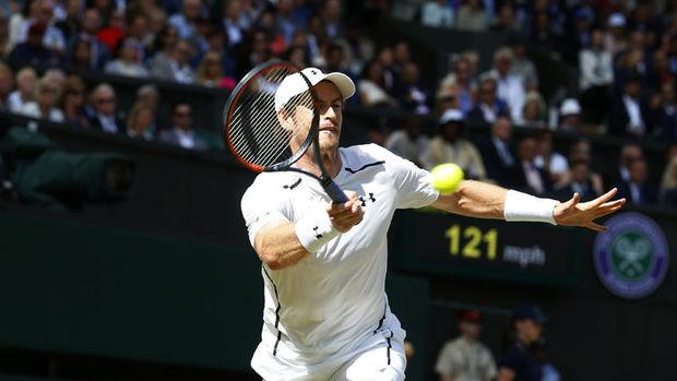 Wimbledon tek erkeklerde şampiyon Murray