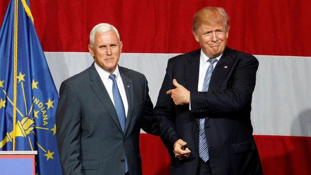 Trump'ın başkan yardımcısı adayı Pence