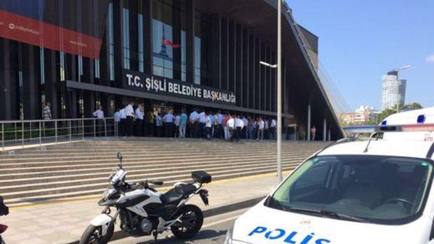 Şişli Belediyesi'nde silahlı saldırı