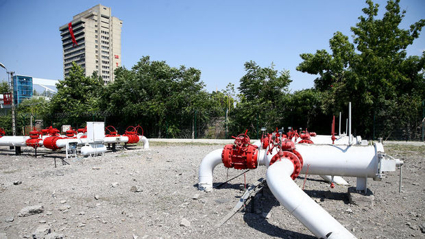 Jetler doğalgaz istasyonunu hedef almış