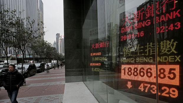 Asya hisseleri küresel rallinin bitmesi ile geriledi