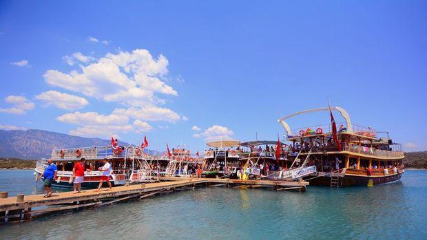 Türkiye'nin turizm geliri %35.6 azaldı
