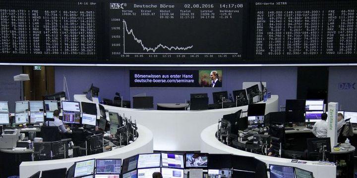 Avrupa hisseleri bankacılıktaki kayıplarla iki haftanın düşüğünde