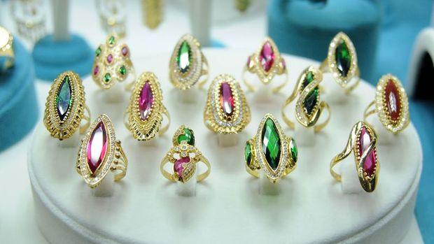 Mücevher ihracatı 100 milyon doların altına indi