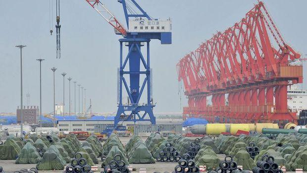 Çin'de ihracat Temmuz'da aşağı yönünü korudu