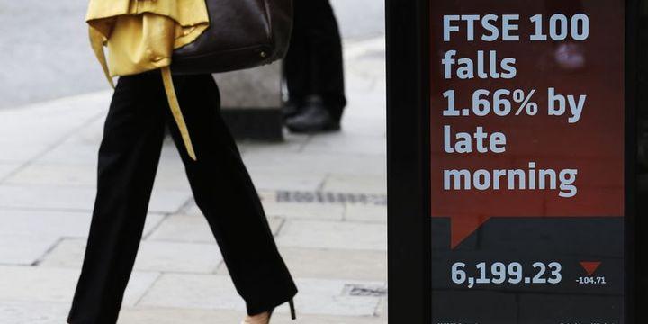 Avrupa borsaları düşüşle açıldı