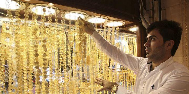 Altının gram fiyatı 126,4 lira seviyesinde dengelendi