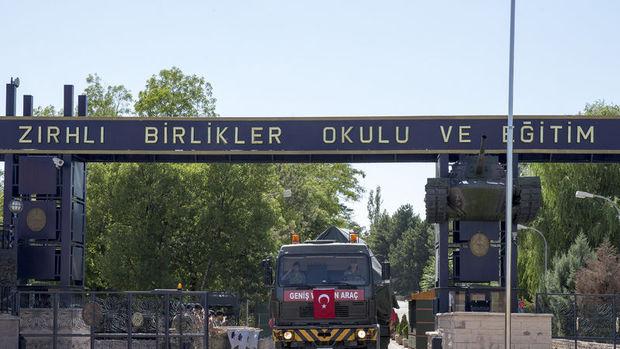 Etimesgut Zırhlı Birlikler Okulu ve Eğitim Tümen Komutanlığı taşınıyor