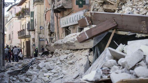 İtalya'daki depremde ölü sayısı 120'ye yükseldi