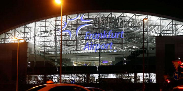 Frankfurt Havalimanı bomba ihbarıyla boşaltıldı