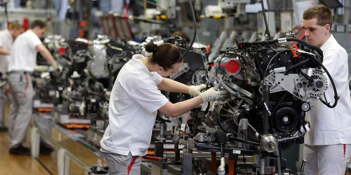Almanya sanayi üretimi 2 yılın en büyük düşüşünü kaydetti